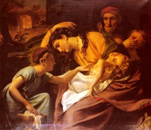 Herod gave orders to massacre all the male children in and around Bethlehem after Jesus' birth.