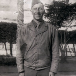 Leo Murray in Italy, 1944