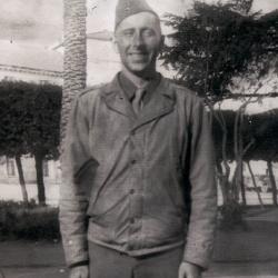 Leo Murray in Italy, 1944