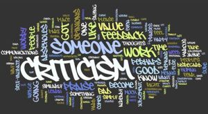 Accepting Criticism