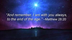 Matthew28.20