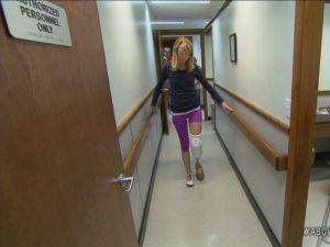 Adrianne Haslet-Davis rehab