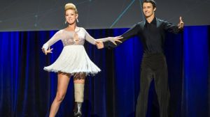 Adrianne Haslet-Davis Dancing at TED talk
