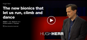 Hugh Herr New Bionics