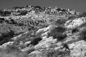 Bethlehem Hills - BW