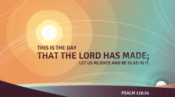 Psalm 118.24