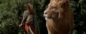 Aslan and Lucy III